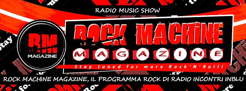 Il ritorno di Rock Machine, che diventa 'Rivista Musicale Radiofonica'