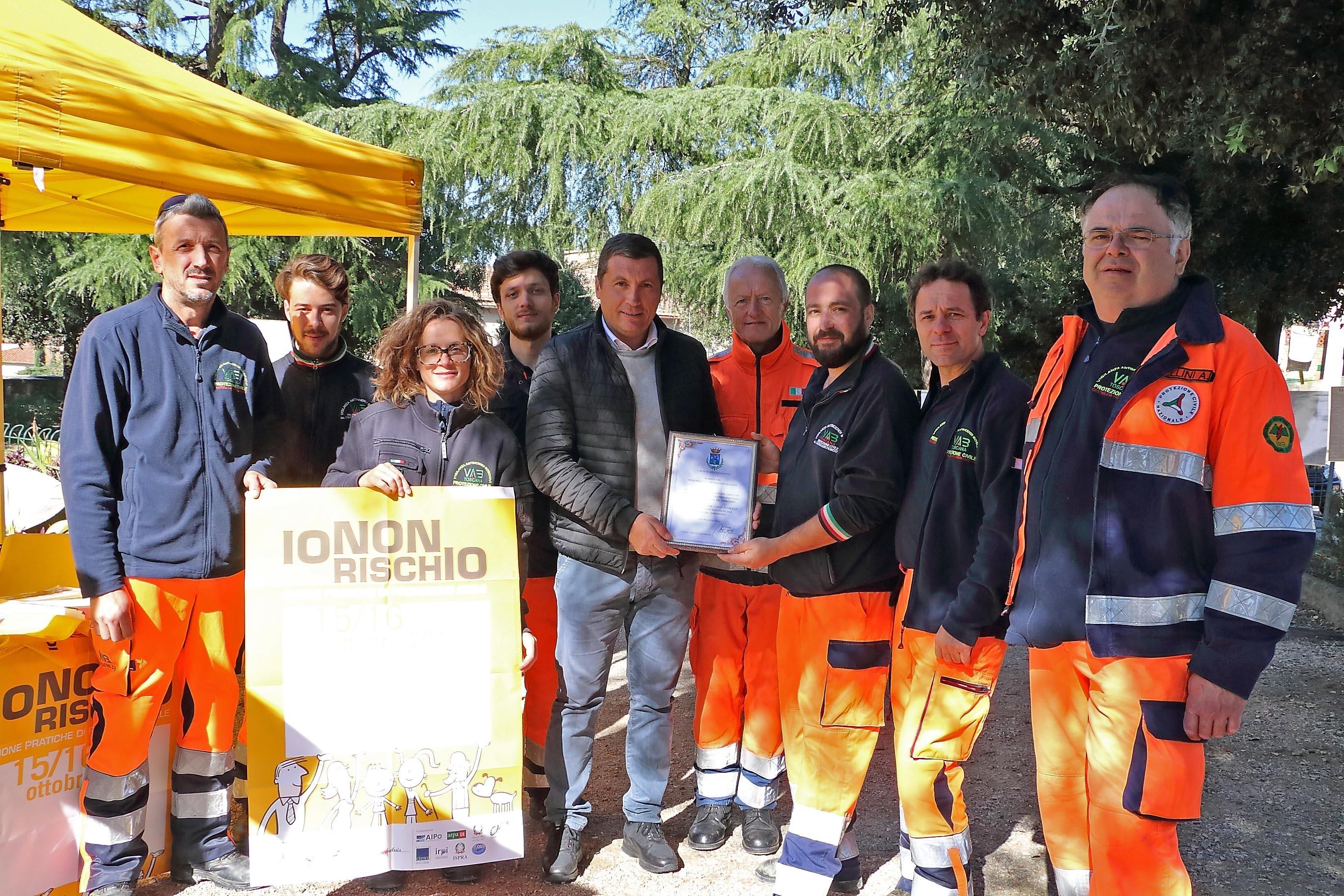 Un riconoscimento per la VAB di Castiglion Fiorentino