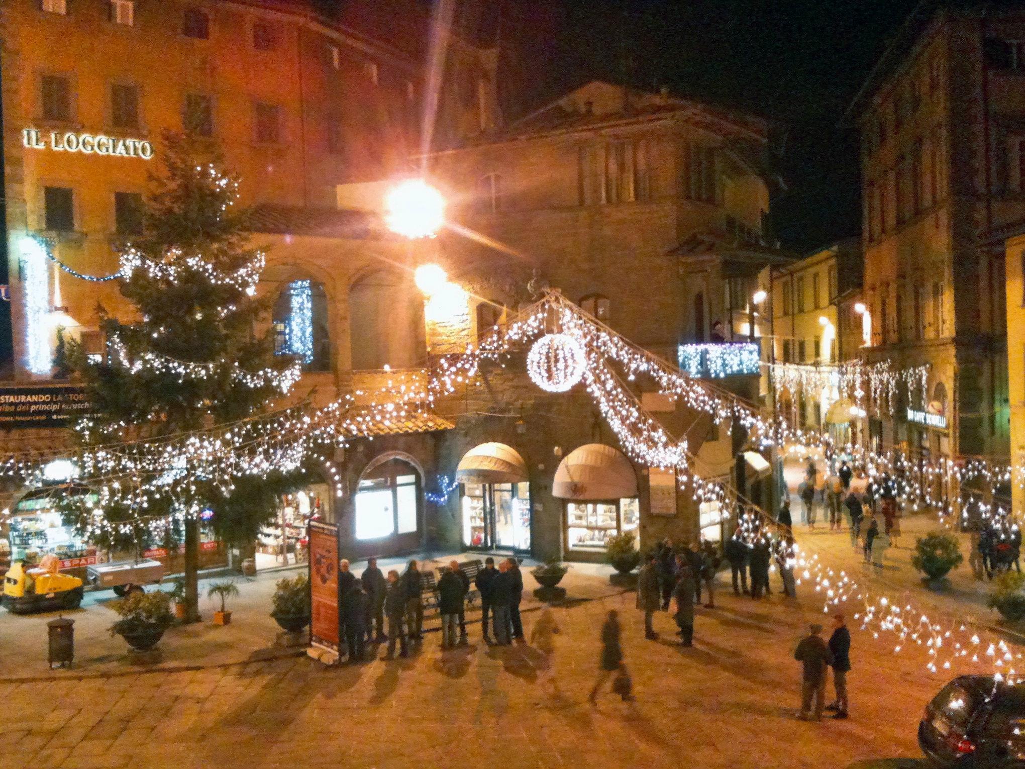Cortona, un 'assaggio' del Natale arriva per l'Immacolata