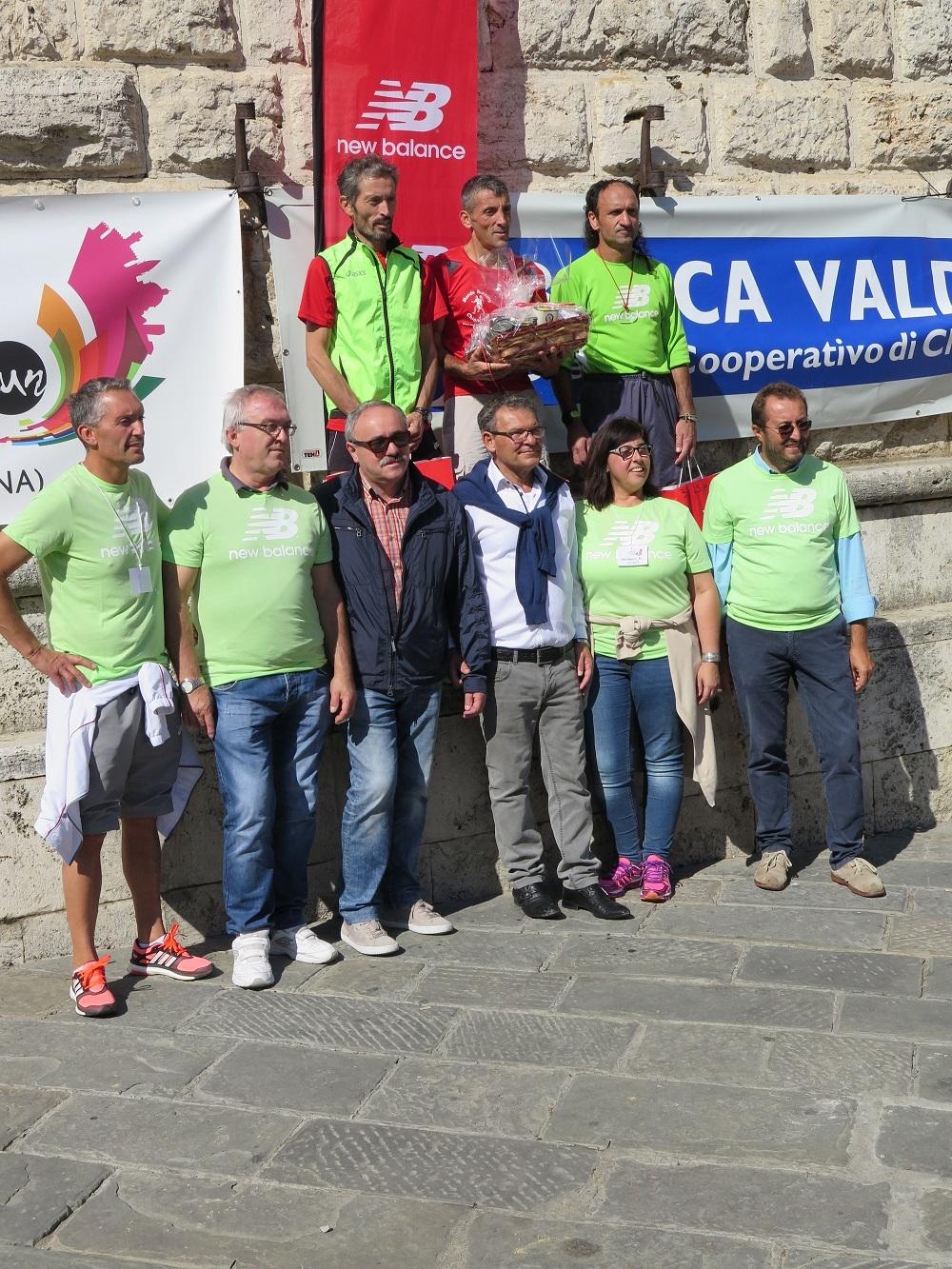 'Montepulciano Run', grande successo. Nella 25 Km vince Donnini