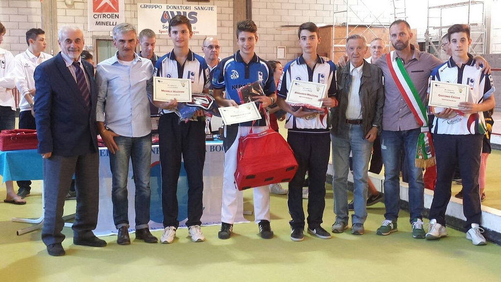 Cortona Bocce brilla nella Coppa Toscana Juniores