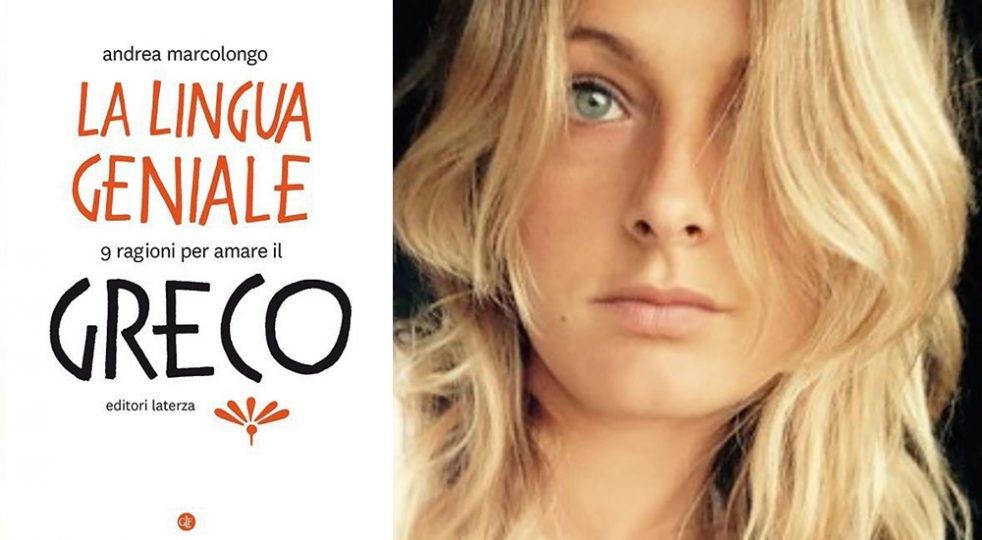 Andrea Marcolongo a Cortona con 'La lingua geniale'