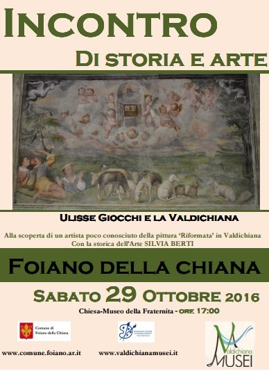 La pittura 'riformata' di Ulisse Giocchi, incontro a Foiano