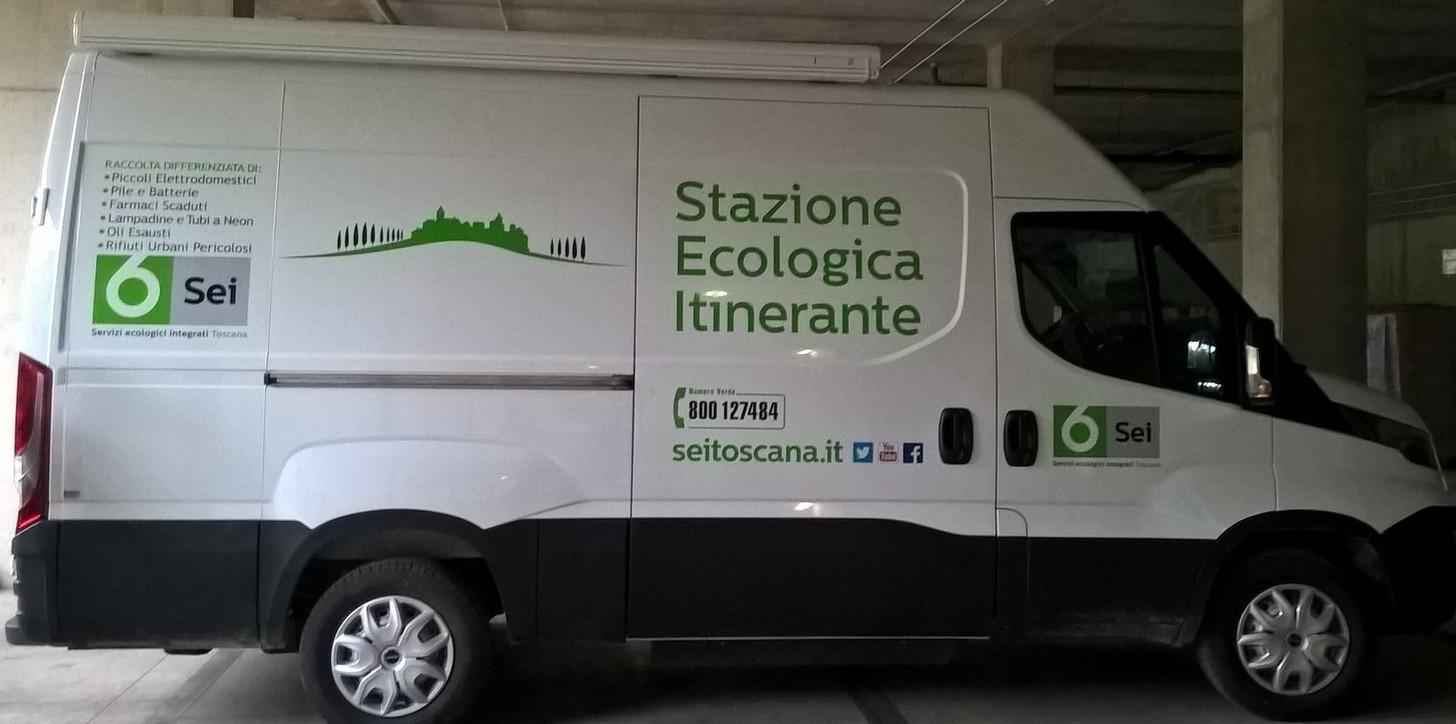 La stazione ecologica itinerante arriva anche a Marciano
