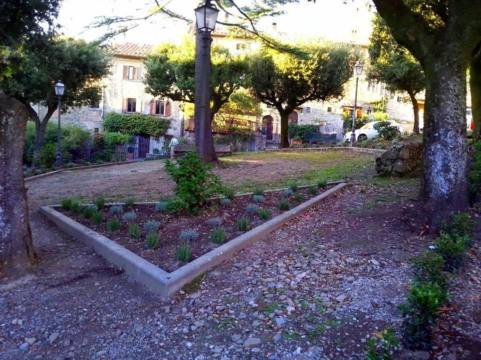 Cortona, completata la riqualificazione di Piazza della Pescaia