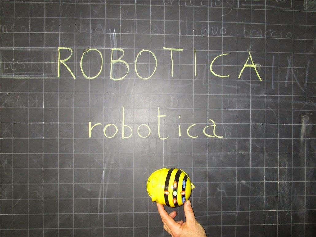 Alla Primaria di Sodo c'è Bee Bot, progetto di robotica educativa