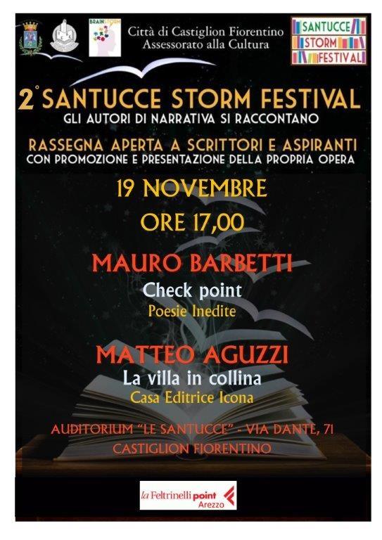 Seconda edizione del 'Santucce storm festival', ultimo appuntamento domani