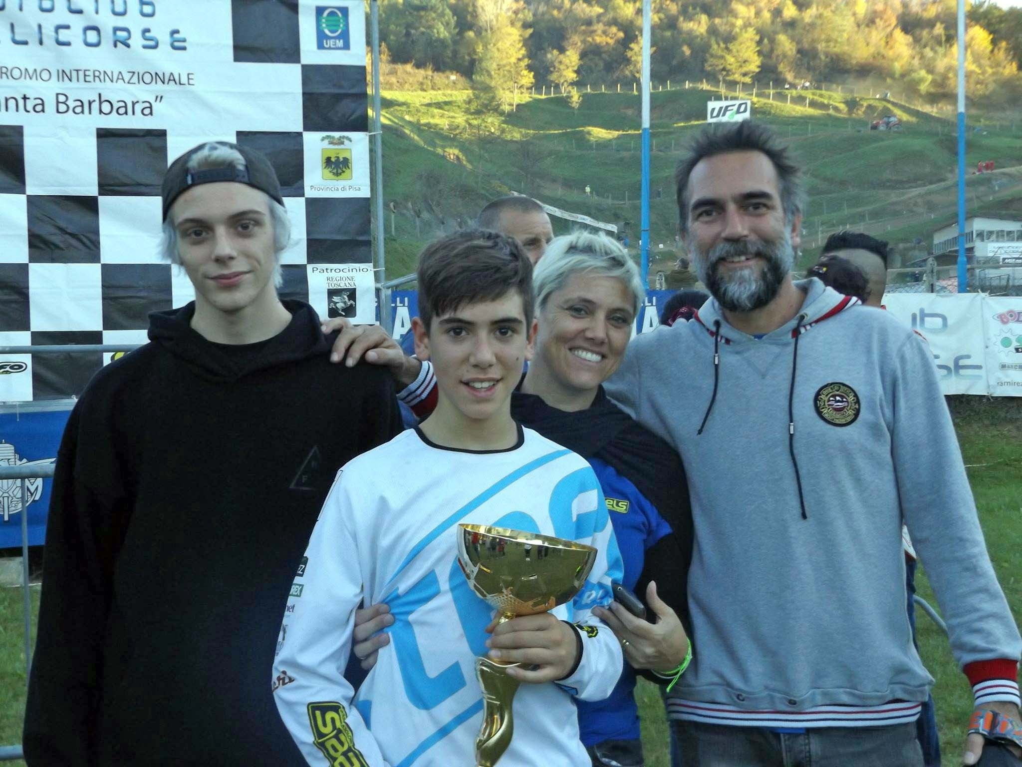 Motocross, la Steels chiude il campionato toscano con un doppio podio