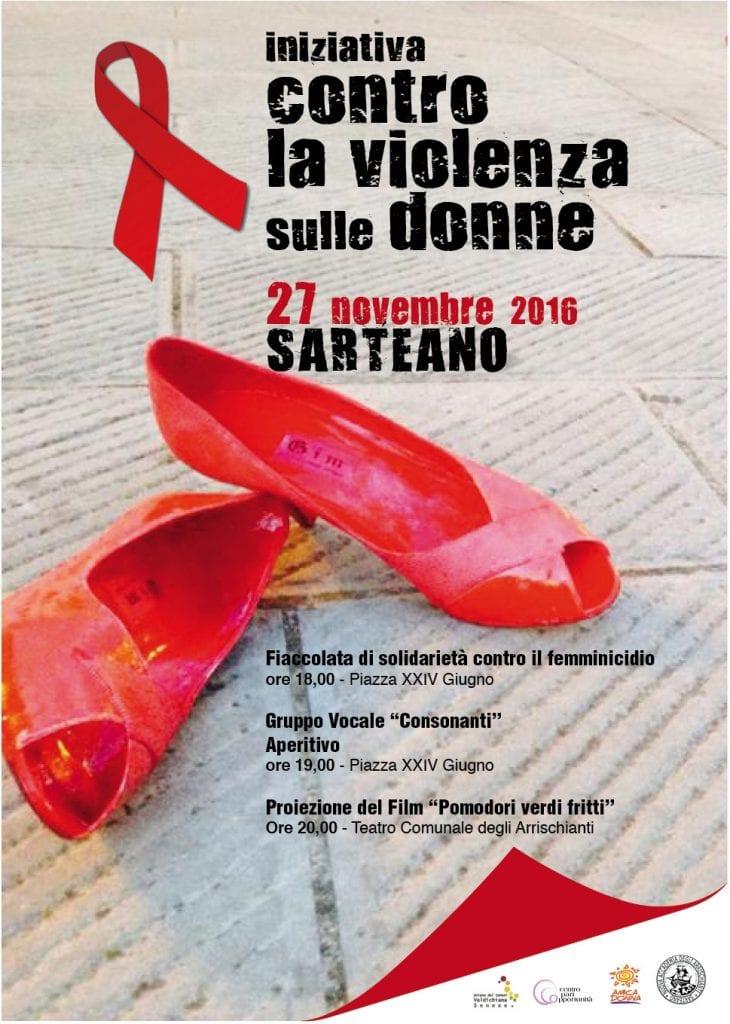 Ricco cartellone di eventi in Valdichiana senese contro la violenza sulle donne