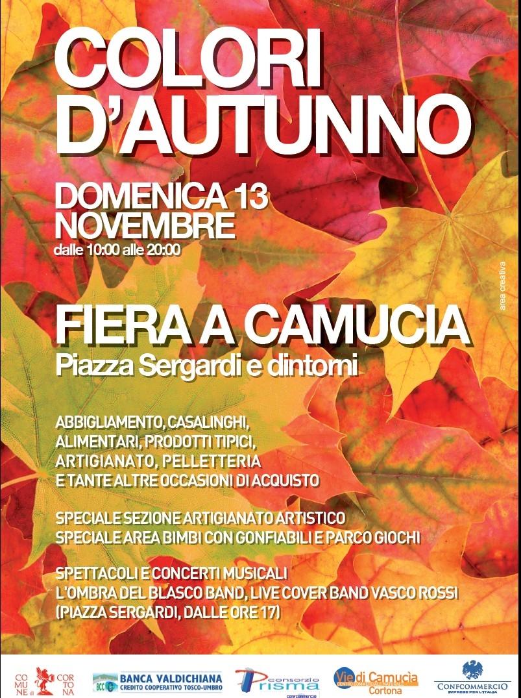 Domenica Camucia in fiera con 'Colori d'autunno'