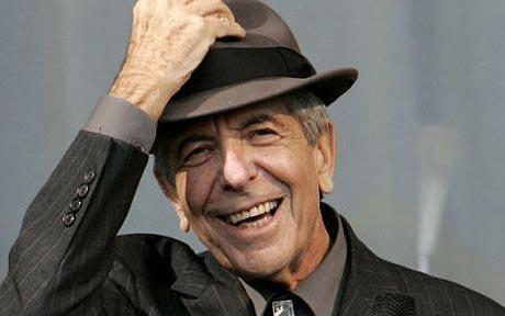 Addio al grande Leonard Cohen