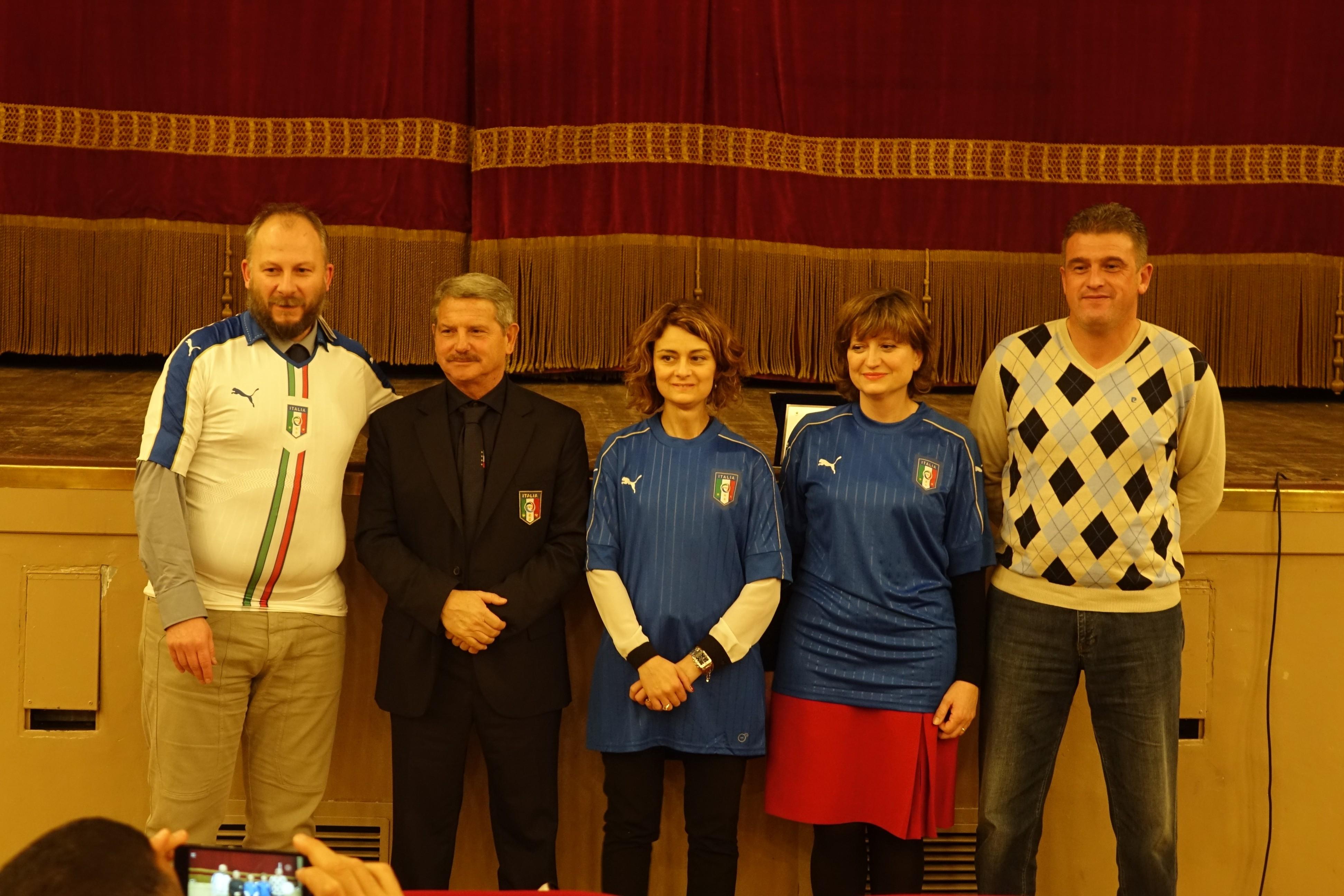 Giovedì al 'Sante Tiezzi' la nazionale Under 16 contro l'Ucraina