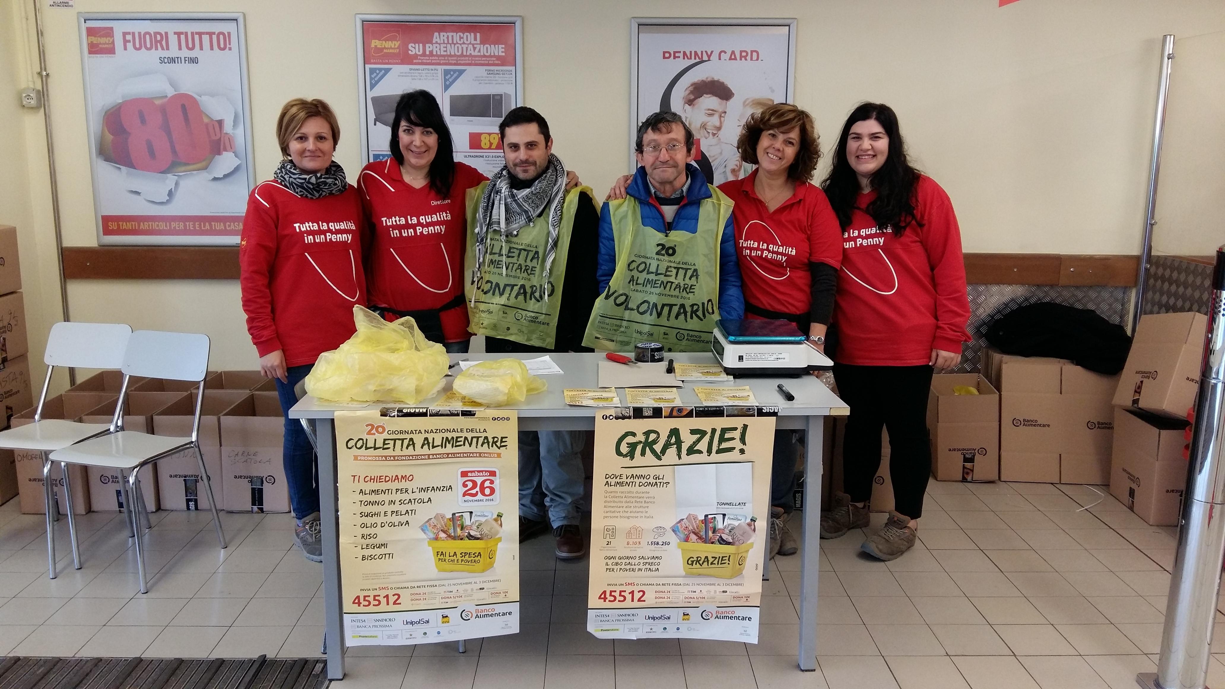Entusiasmo e successo a Cortona per la giornata della colletta alimentare