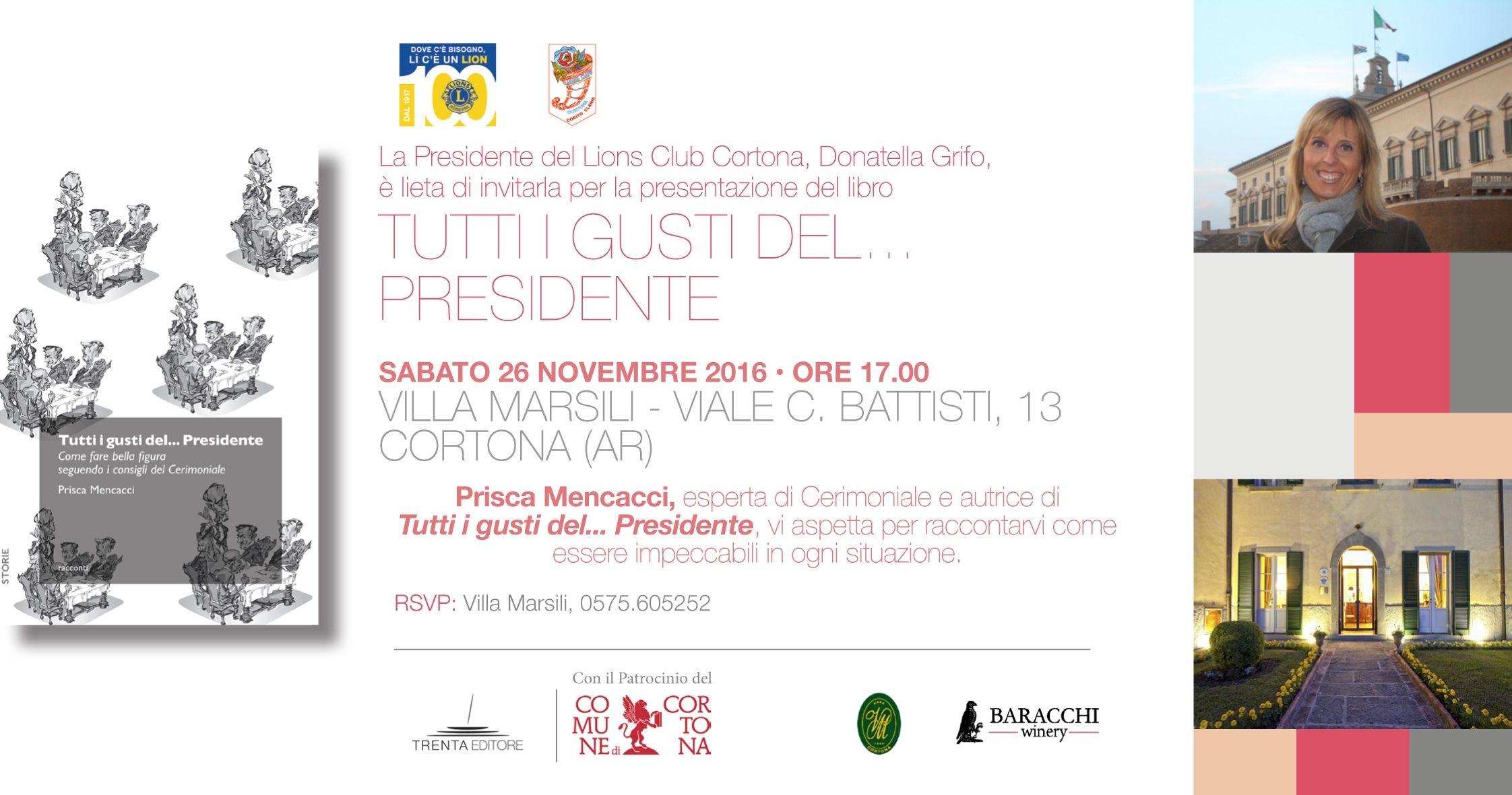 Il Bon-Ton? Prisca Mencacci presenta a Villa Marsili il suo libro