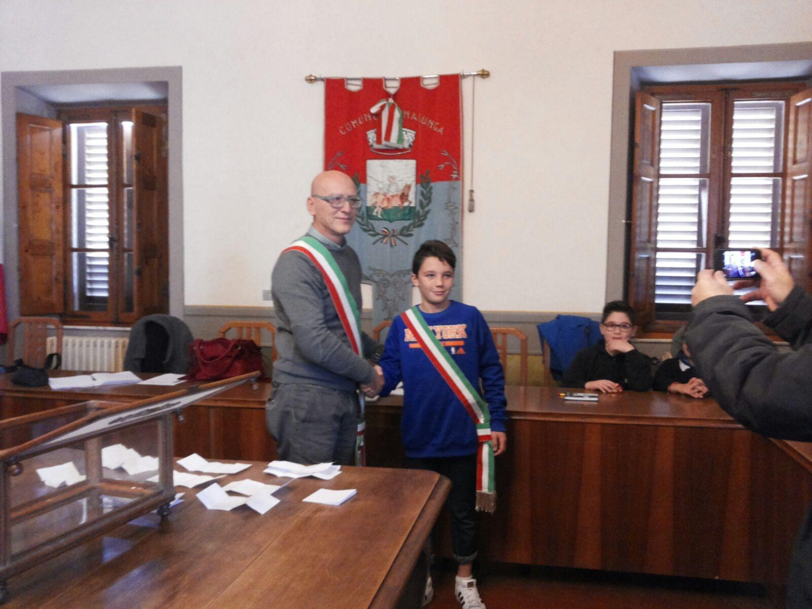Sinalunga, il nuovo Sindaco dei ragazzi è Alberto Cavaletta