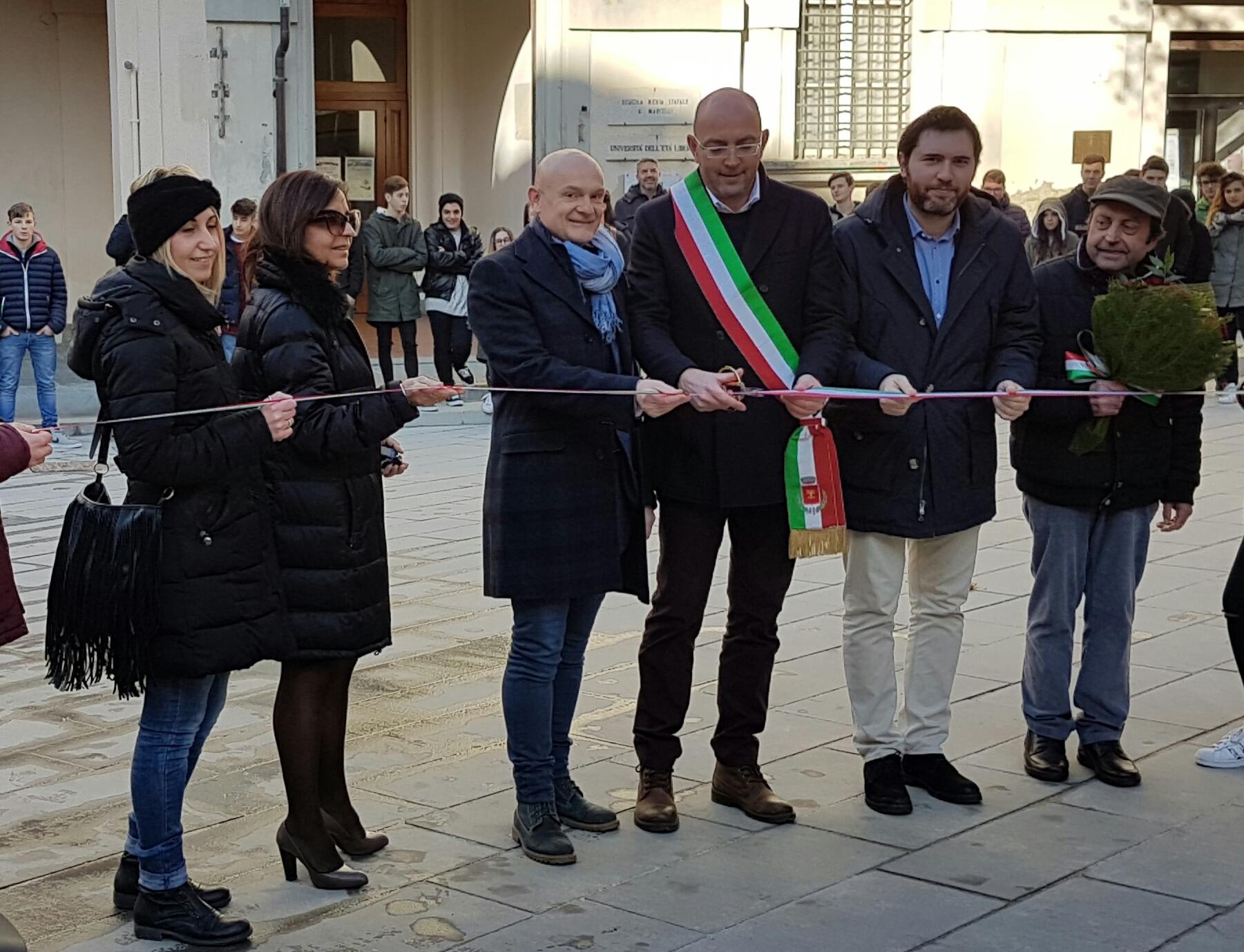 Foiano, ecco la 'nuova' Piazza Nencetti