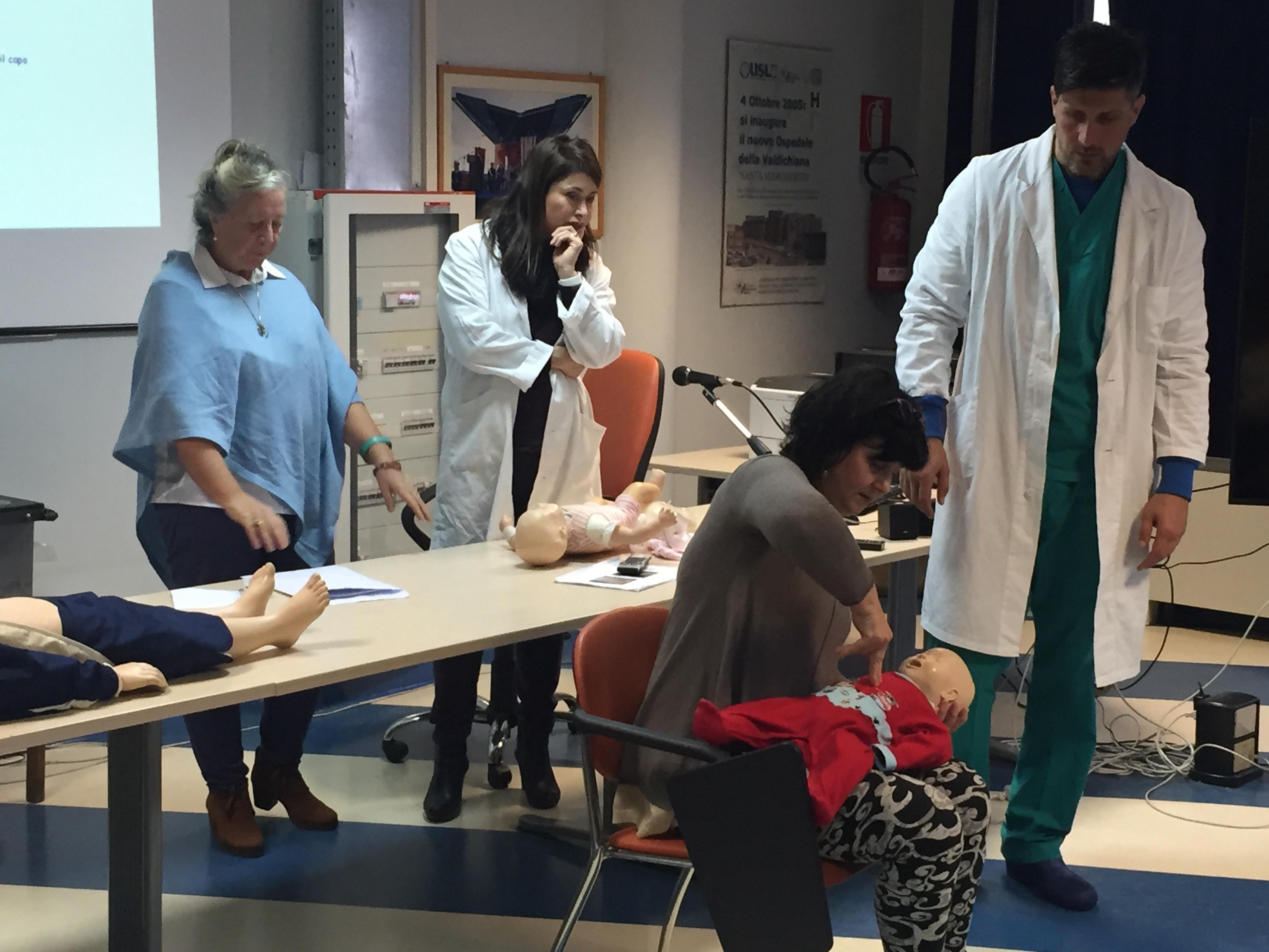 A Cortona un corso sulle emergenze pediatriche
