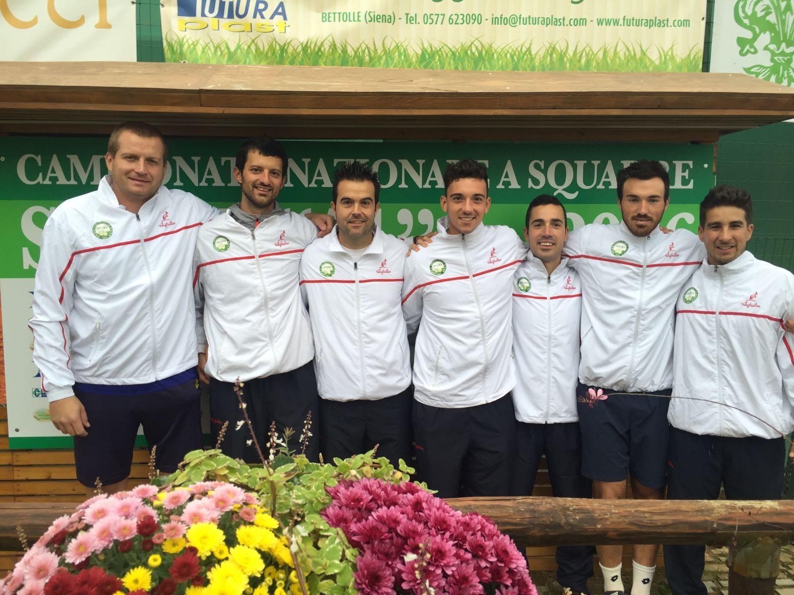 Il TC Sinalunga resta in serie A, conquistata la salvezza a Pavia