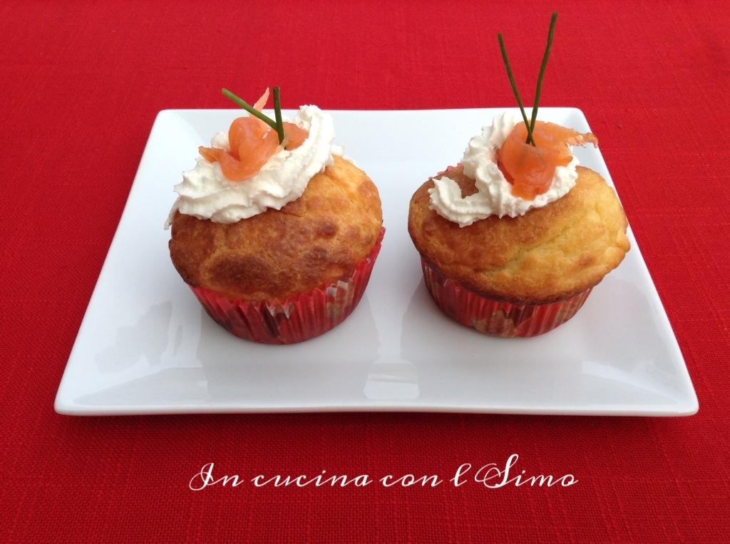 Cupcake al salmone
