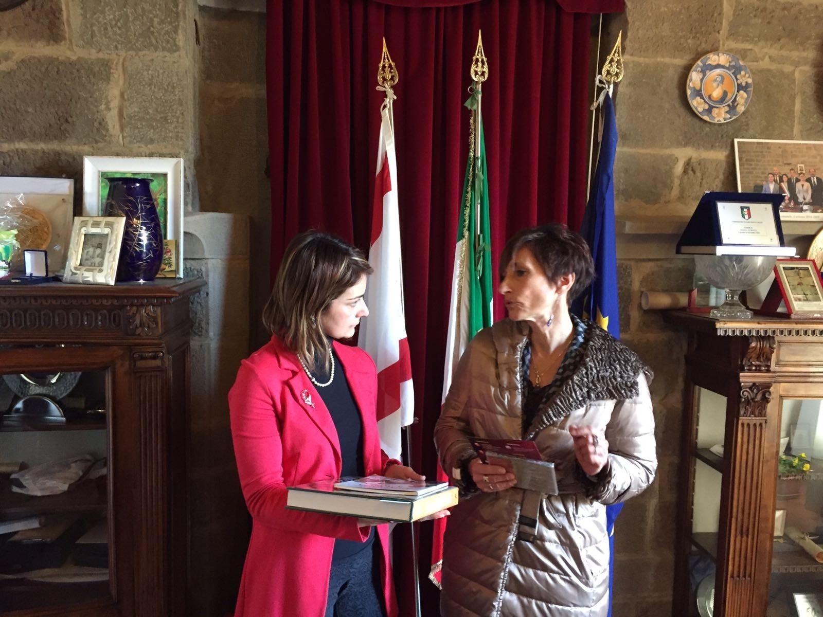 Il nuovo Prefetto di Arezzo in visita a Cortona