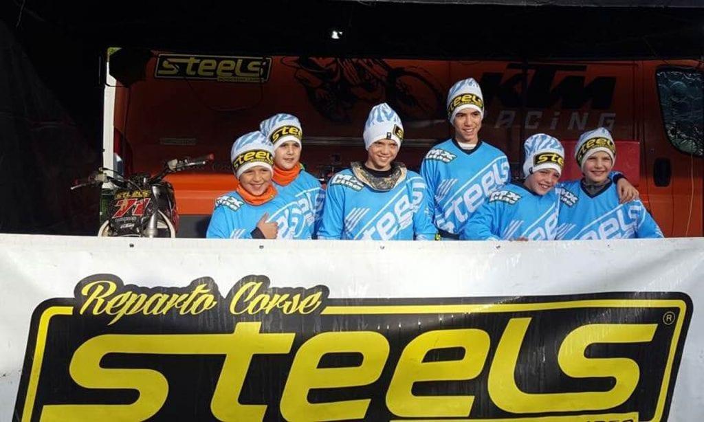 Steels motocross vince il campionato toscano a squadre