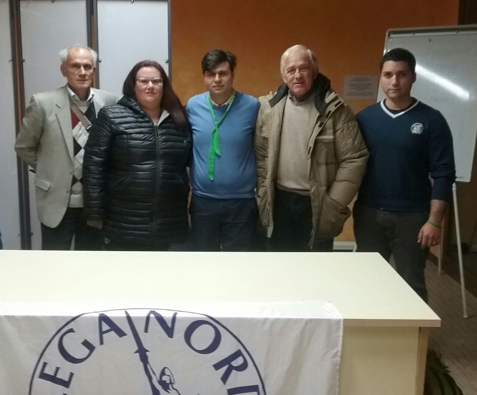 Nicola Mattoni confermato Segretario di Lega Nord Cortona Valdichiana