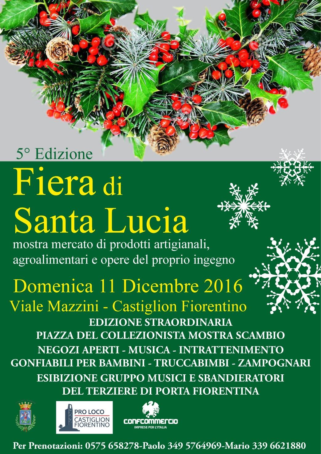 Fiera di Santa Lucia a Castiglion Fiorentino