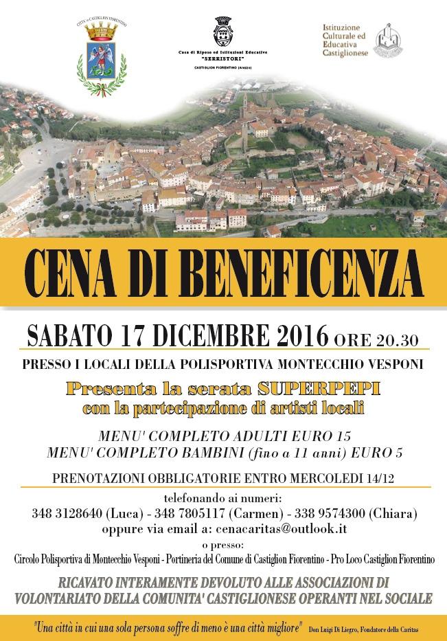 A Castiglioni la cena a sostegno del mondo del volontariato locale
