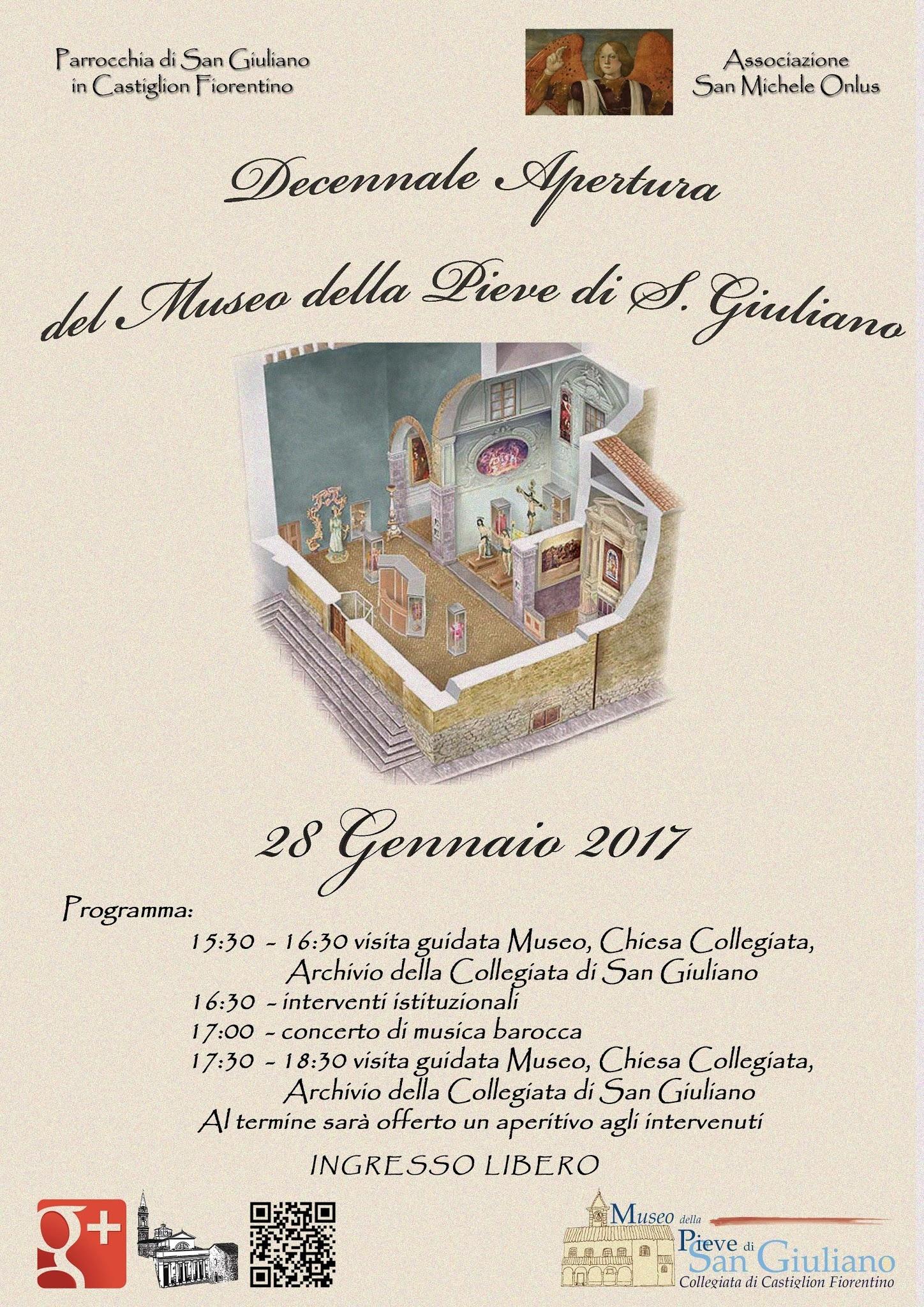 Il Museo della Pieve di San Giuliano festeggia i primi dieci anni di vita