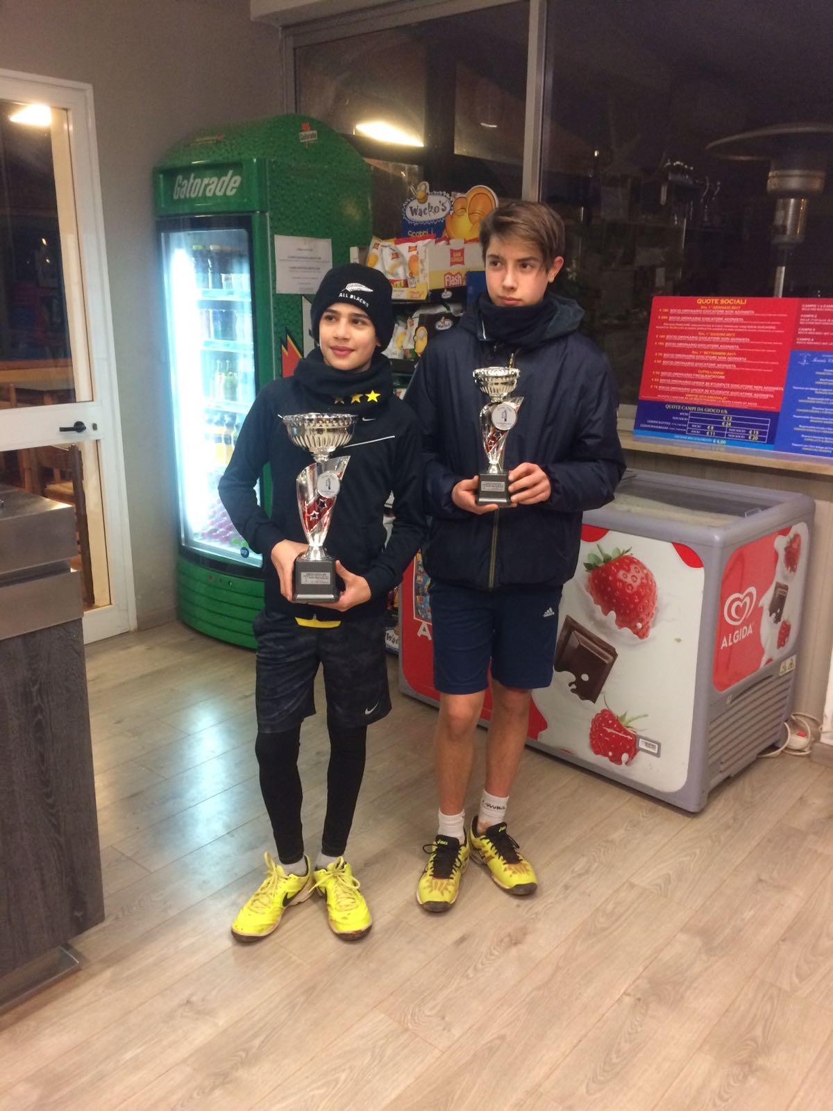 E' Riccardo Vegni il 'mattatore' del torneo Under 17 del Tennis Club castiglionese