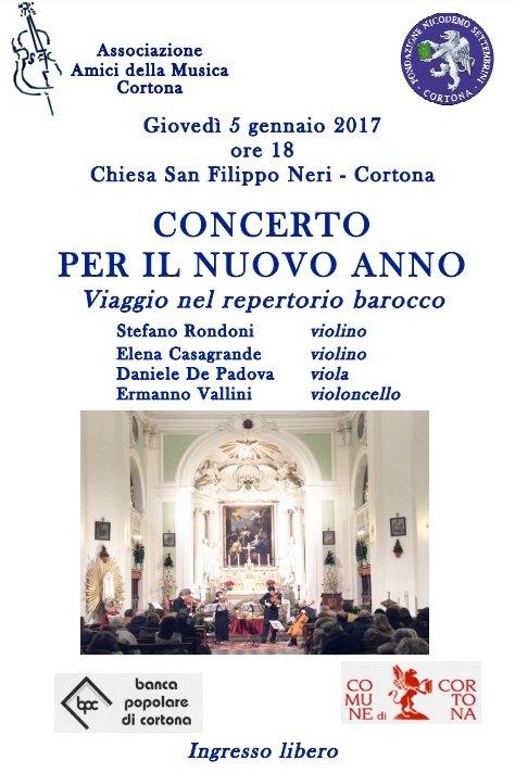 'Concerto per il nuovo anno', a San Filippo un viaggio nel Barocco