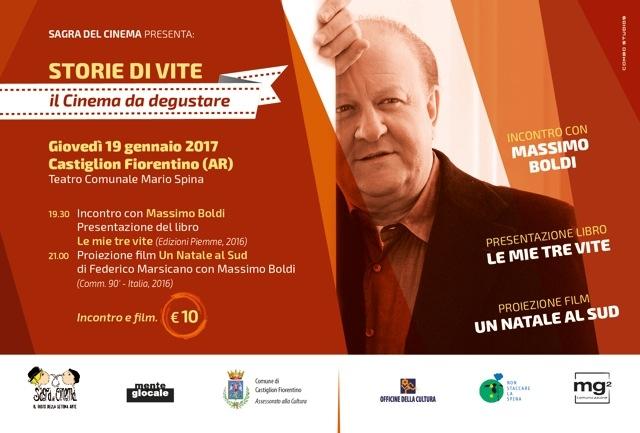 Massimo Boldi si racconta, giovedì allo Spina di Castiglion Fiorentino