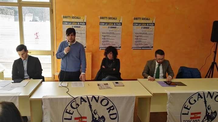 Servizi sociali, partecipato convegno a Camucia promosso da Lega Nord