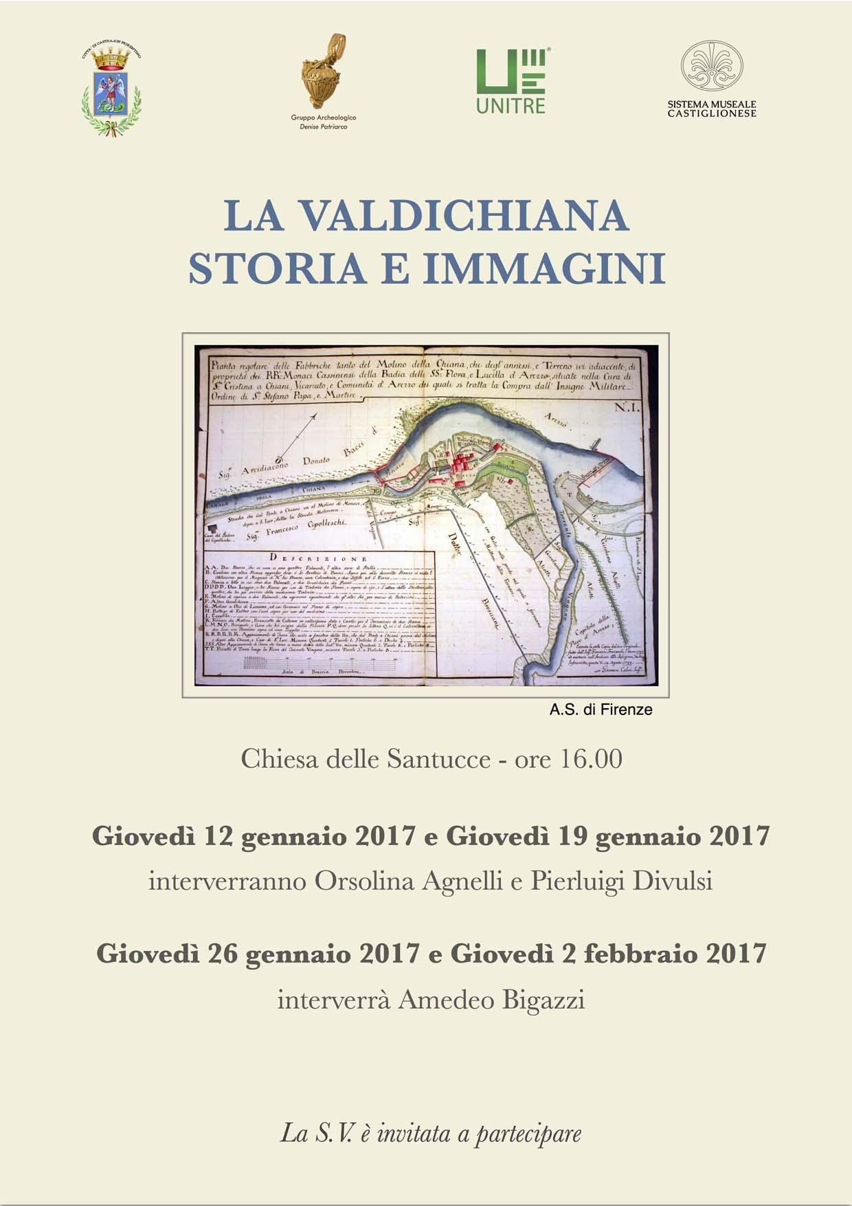 'La Valdichiana Storia e Immagini', 4 incontri a Castiglion Fiorentino