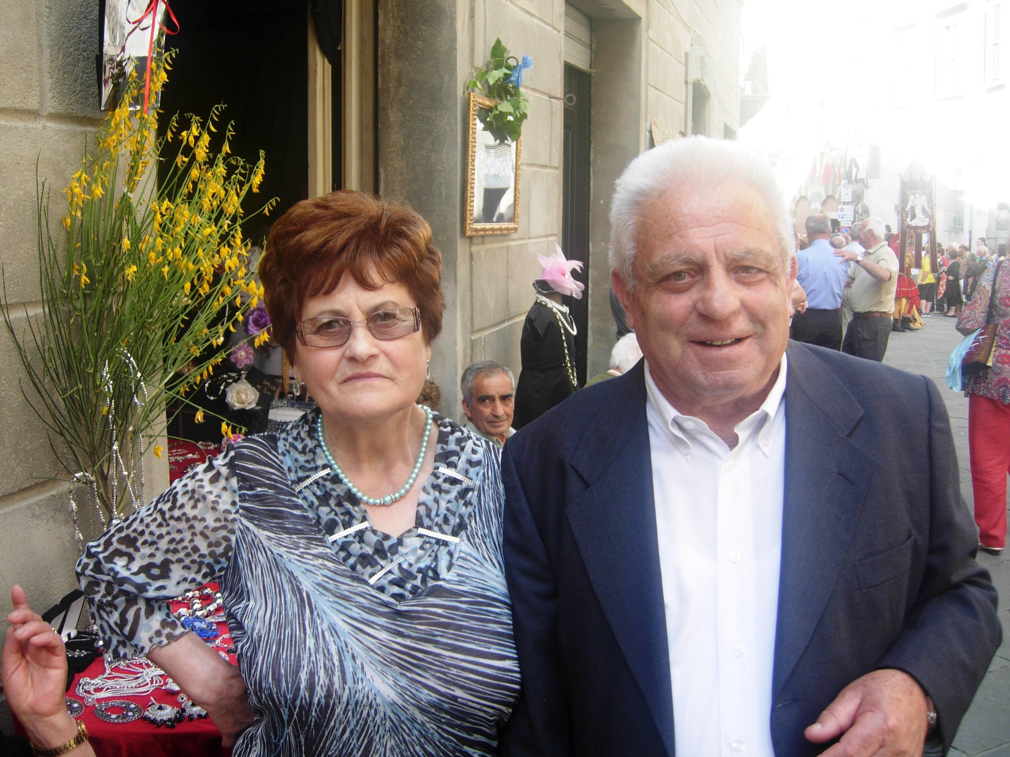 Lucignano: nozze di diamante per Beppe e Rosa