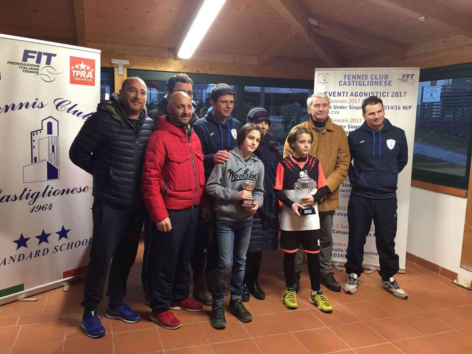 TC Castiglionese, i risultati dello Slam Toscana