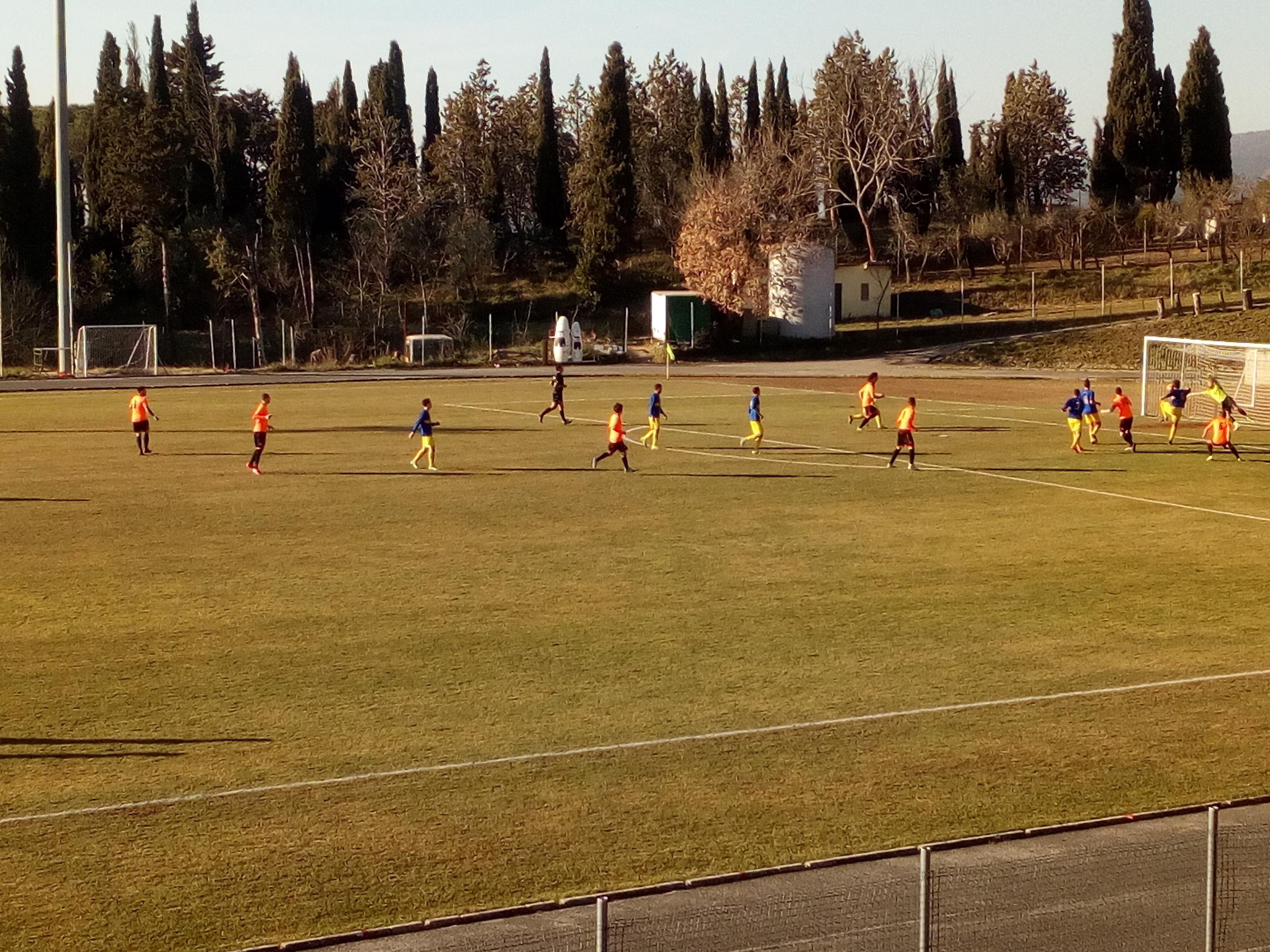 Cronache arancioni (10). Cortona - Subbiano 3 - 1. Prestazione imperiosa degli Orange Devils.