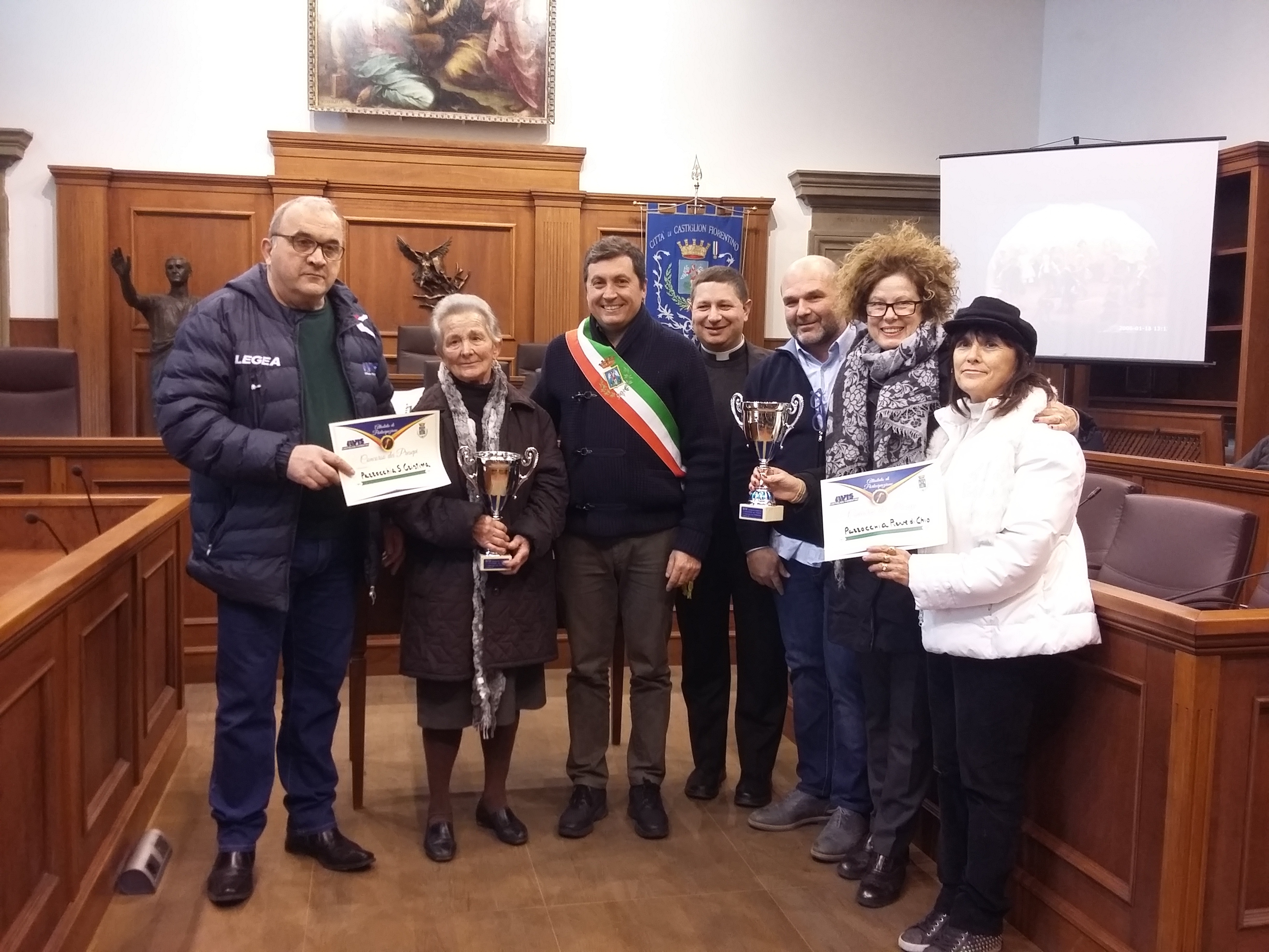 Premiati i vincitori del concorso dei Presepi promosso da Avis