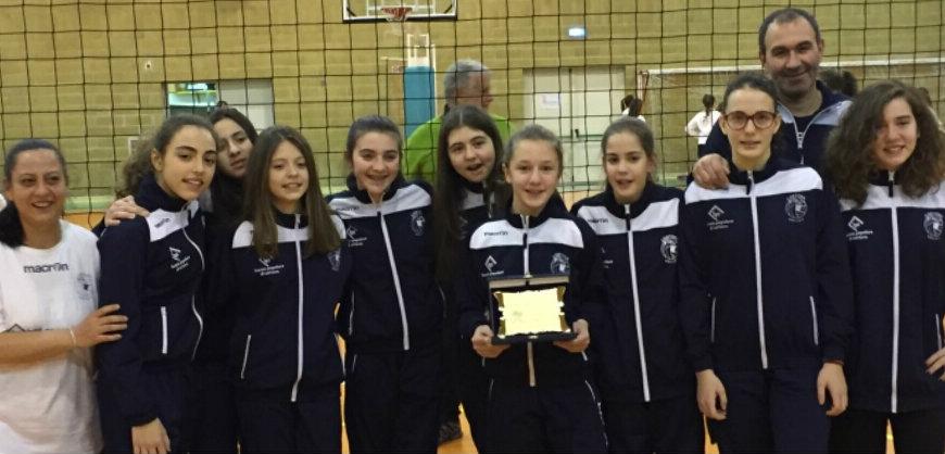 Il Cortona Volley vince il torneo pre-campionato Under 13 femminile