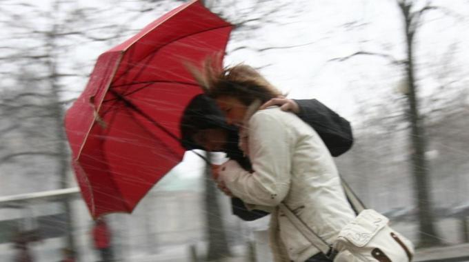 Meteo: si teme per il forte vento, da escludere le nevicate