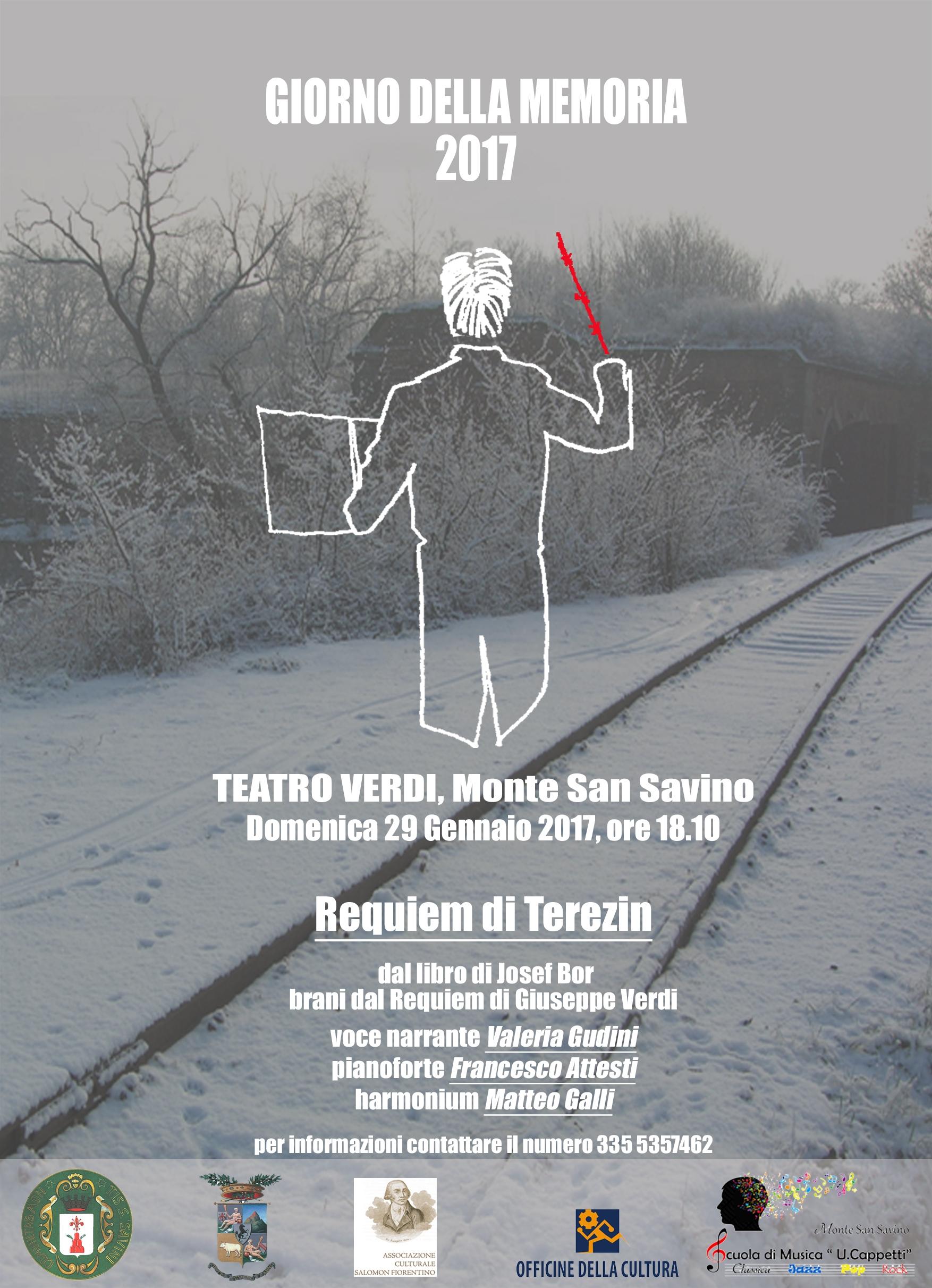 Monte San Savino per il Giorno della Memoria, iniziative con le scuole e un appuntamento al Teatro Verdi