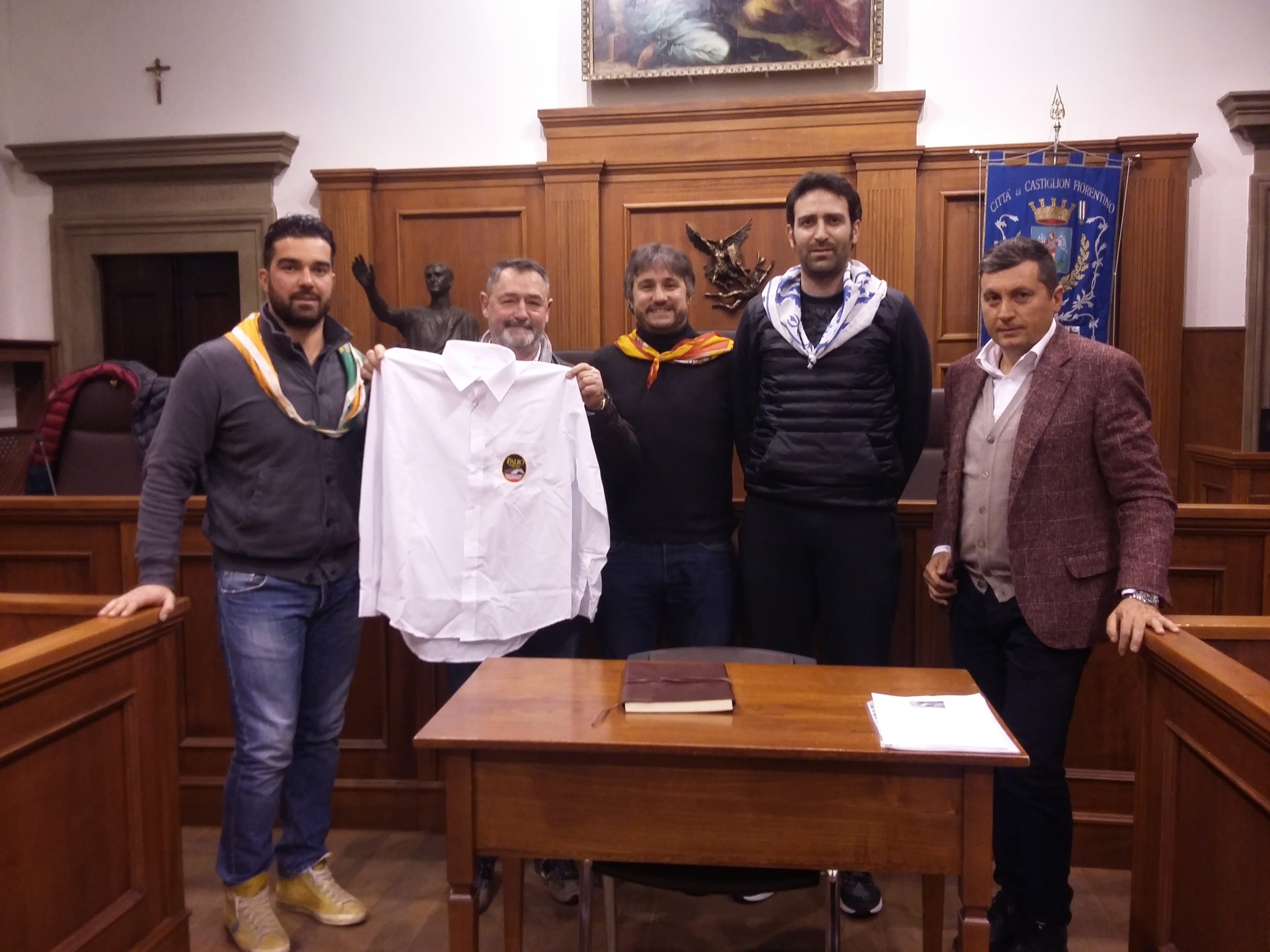 Palio dei Rioni, il nuovo Magistrato ha firmato il 'Codex Palii'