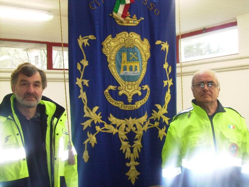 'Visso vive', volontari del VSA di Monte San Savino nella città marchigiana colpita dal terremoto