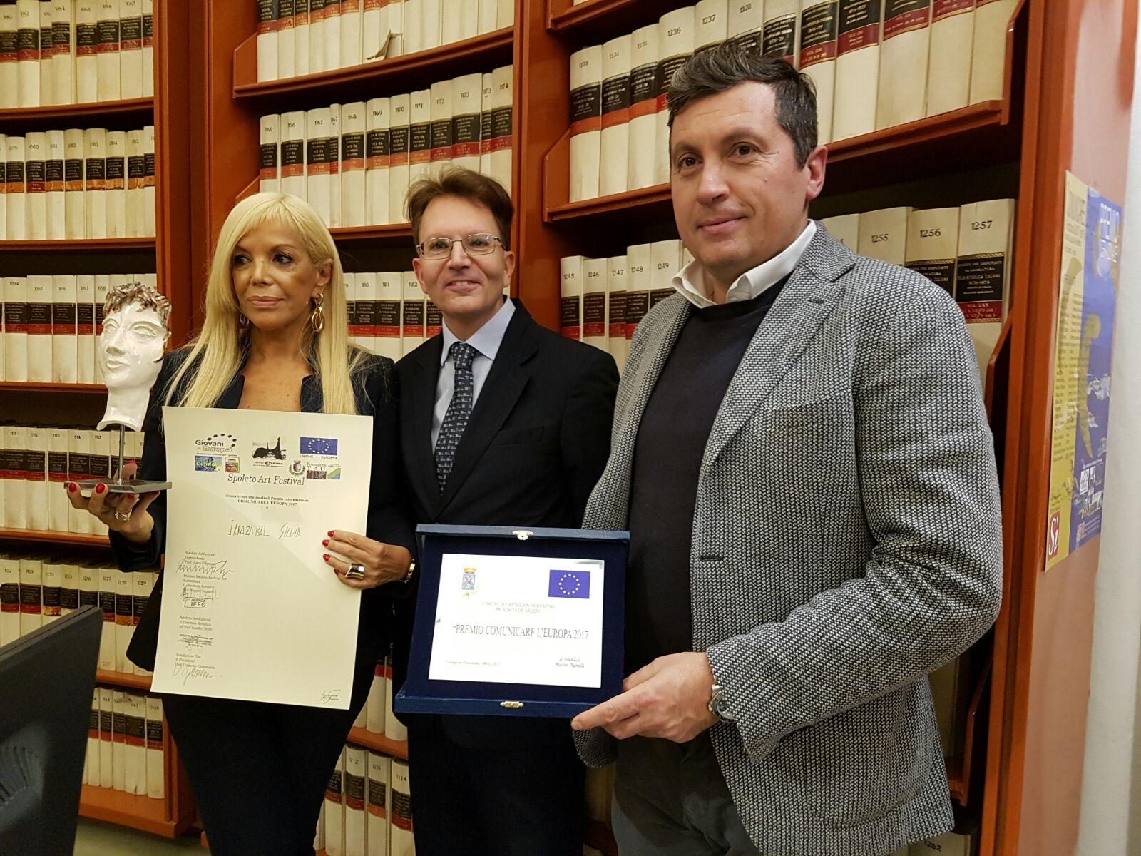Amministratori castiglionesi presenti a 'Comunicare l'Europa'
