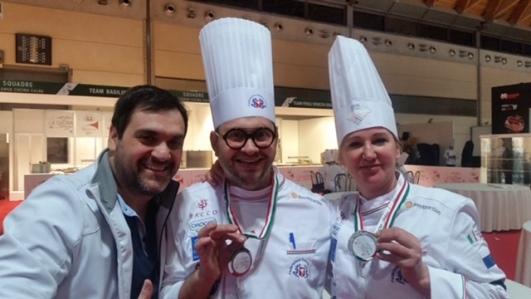 Due Chef aretini sul podio dei Campionati della Cucina Italiana a Rimini