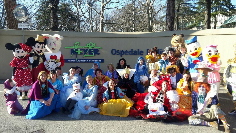 Al Carnevale di Foiano la parata Disney promossa dalla Fondazione Meyer