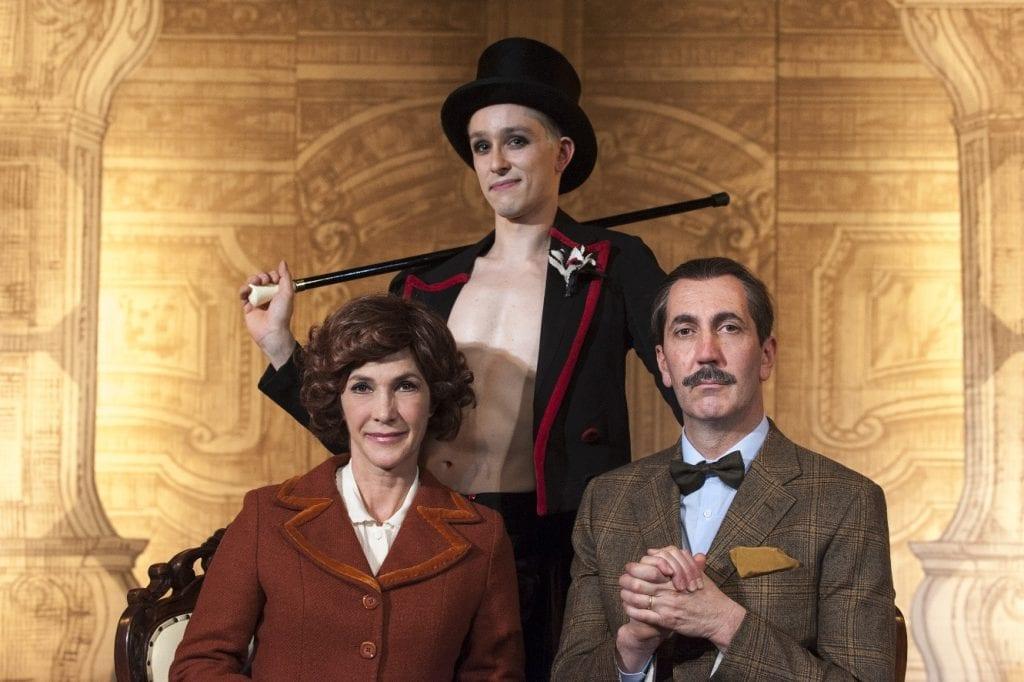 Al Signorelli 'Nudi e crudi' con Maria Amelia Monti e Paolo Calabresi
