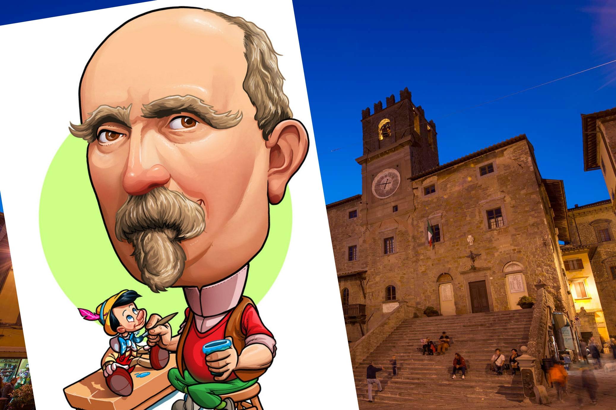 Collodi, Pinocchio e Cortona... un altro scoop!