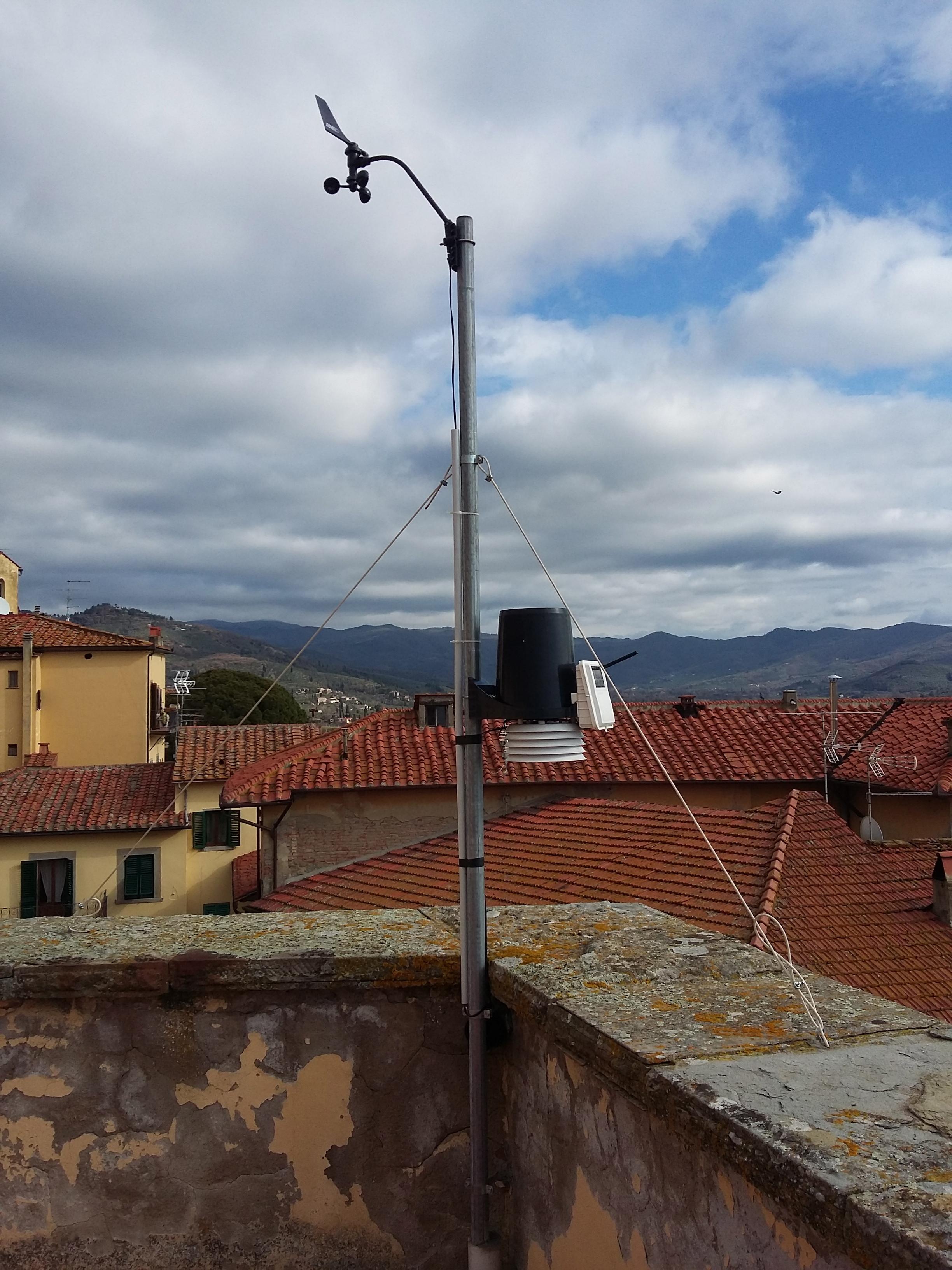 Una stazione meteo allo Scientifico di Castiglion Fiorentino