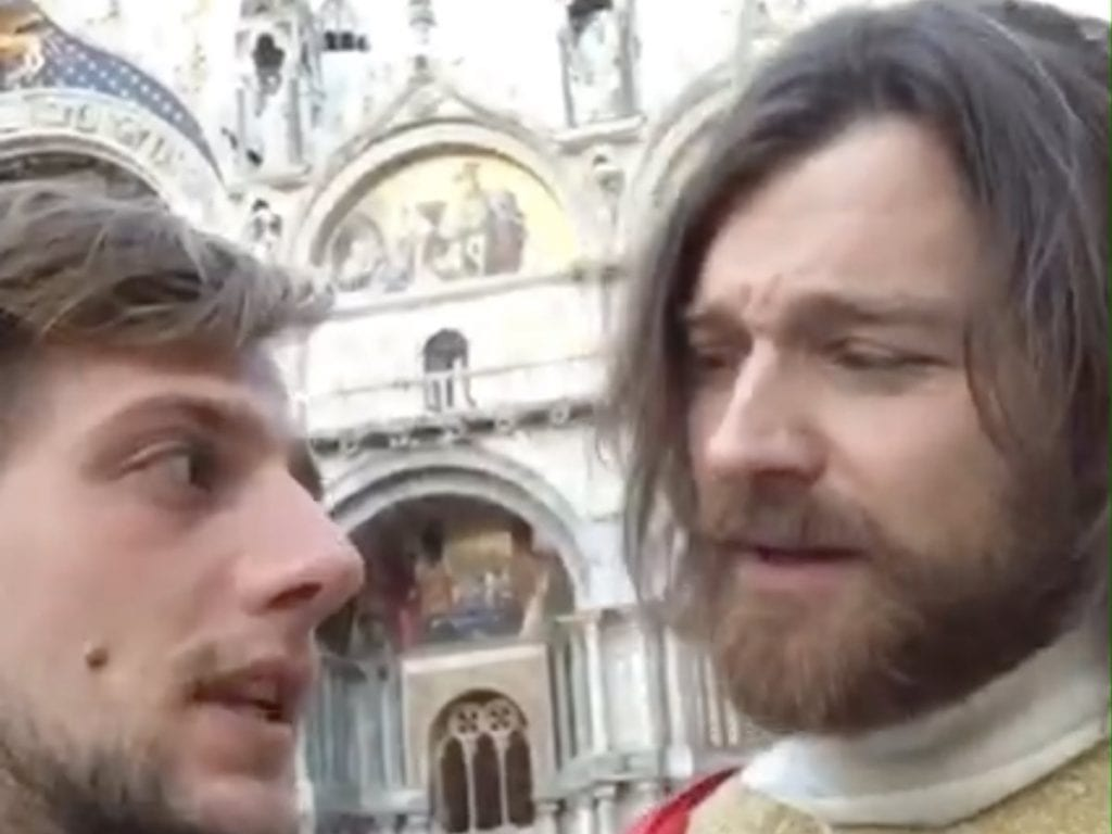 Il Biondo al Carnevale di Venezia... un reportage stravagante!